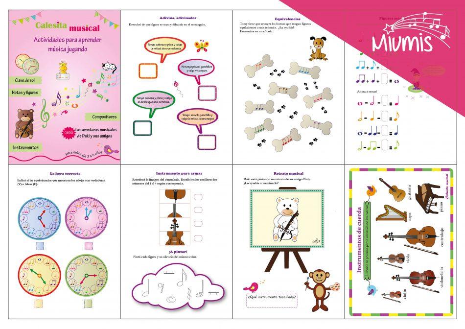 Revista digital con actividades