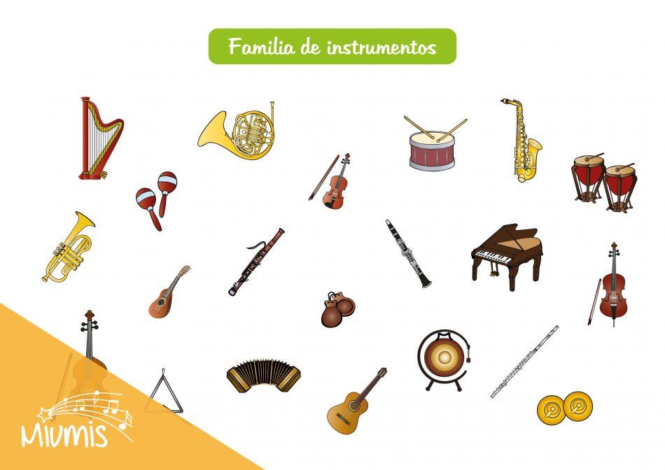 Familia de instrumentos