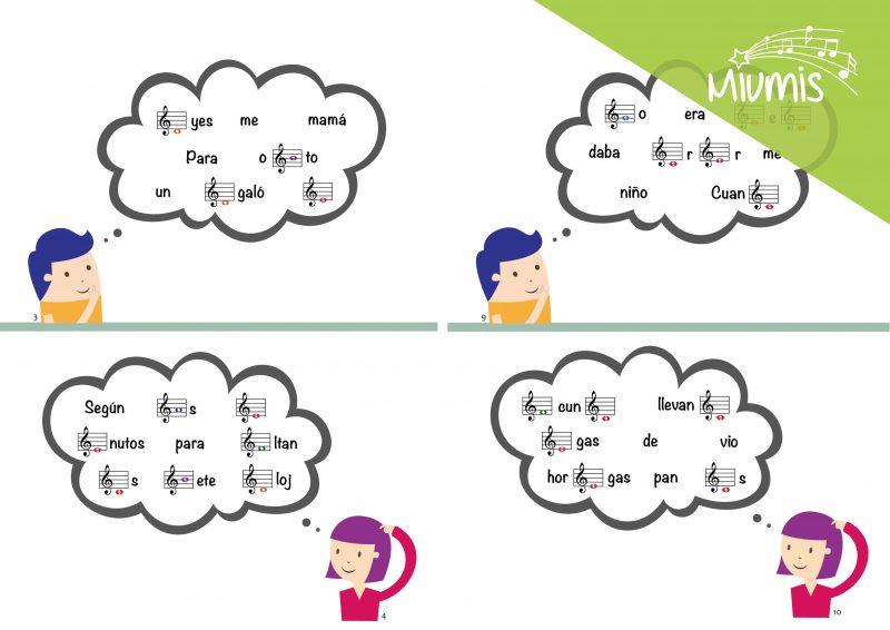 Frases en clave musical