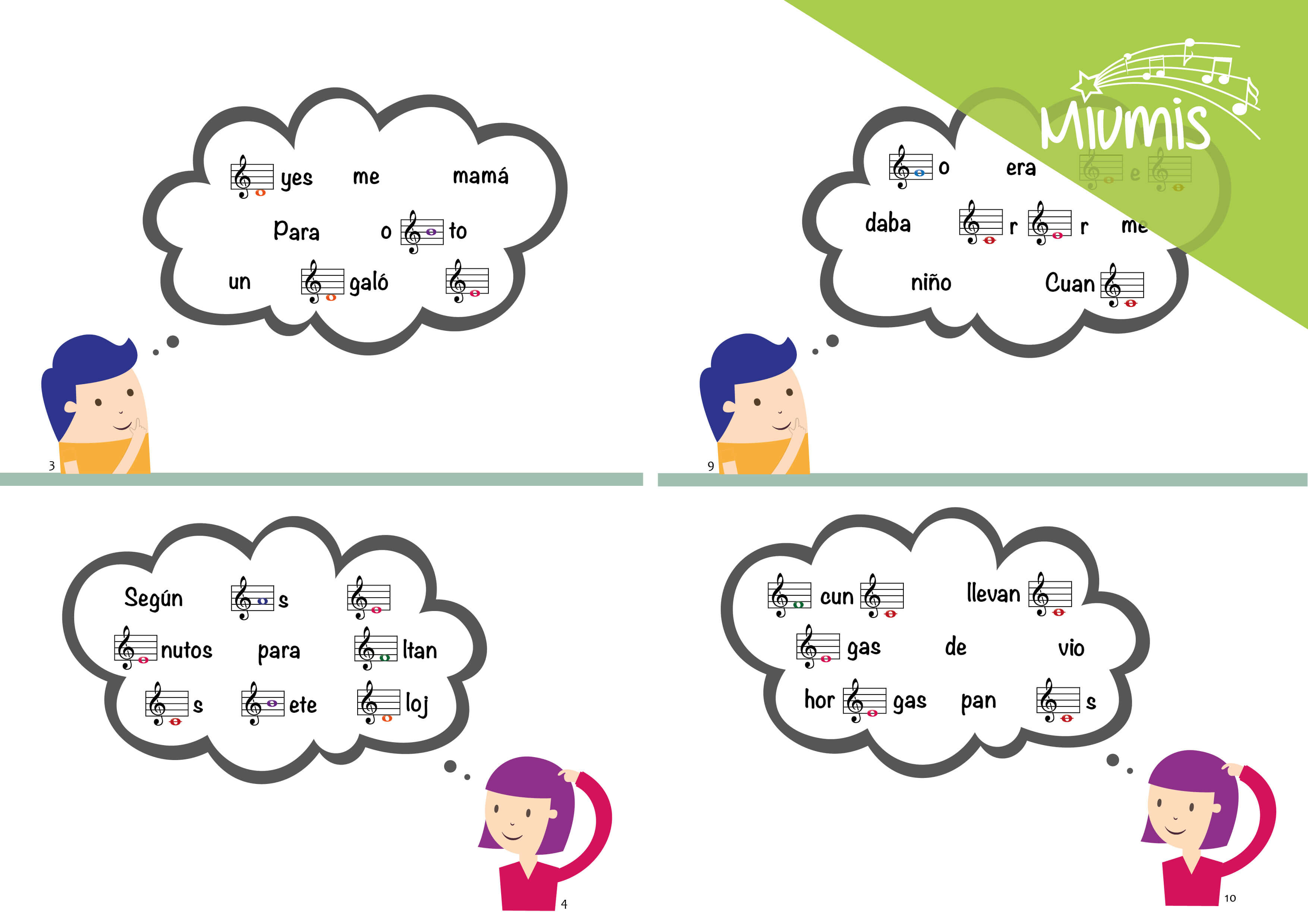 Frases en clave musical – Miumis